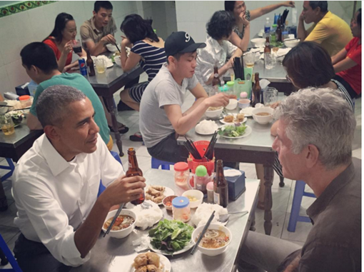 VIETNAMESE STREET FOOD & OBAMA'S VISIT